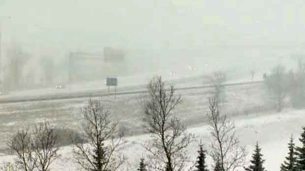 March Snow Storm Blasts Calgary Ctv News