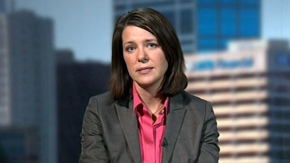 Wildrose Leader Danielle Smith appears on CTV's Power Play, Monday, March 4, 2013.