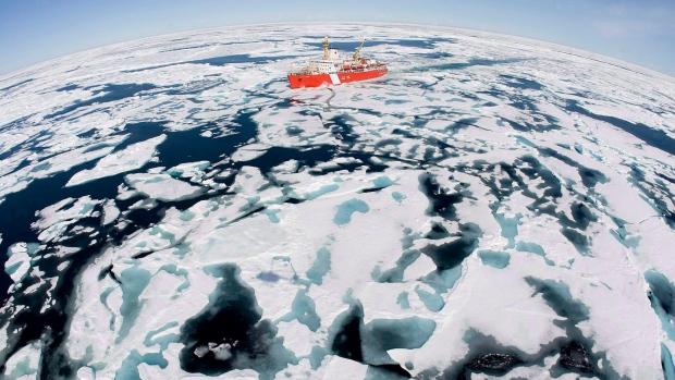 New arctic sea routes