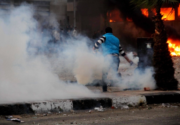 Violent clashes continue in Port Said