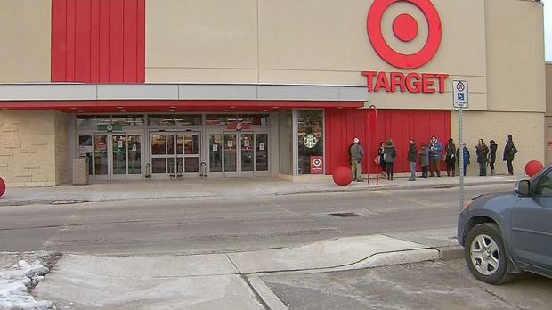 Target Canada opens
