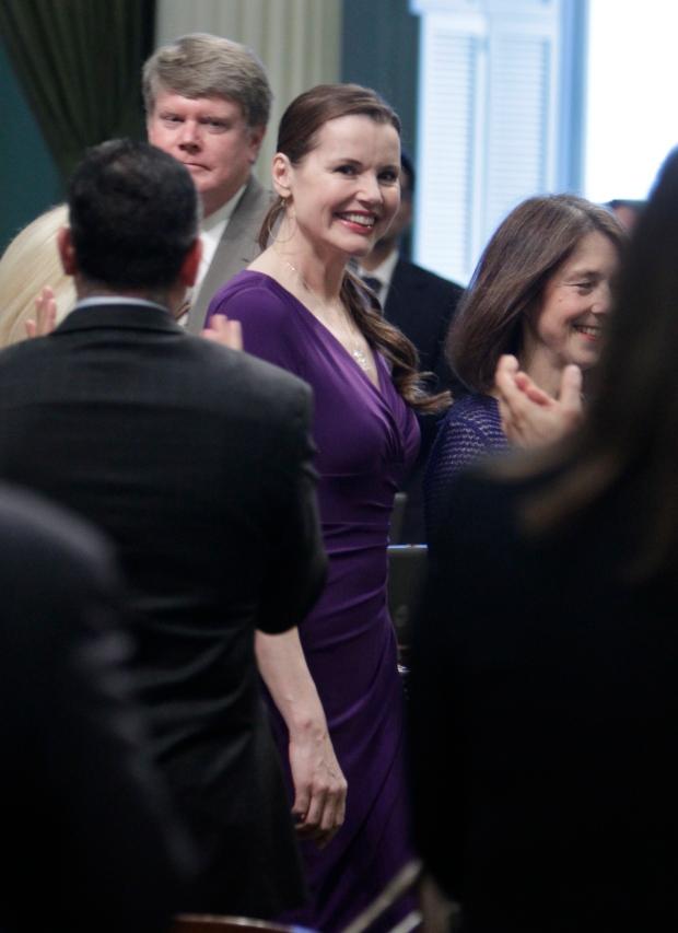 Geena Davis on March 4, 2013.