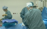 A file photo of doctors in an operating room.