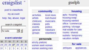 Guelph craigslist personals
