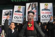 Nuclear Korea Protest