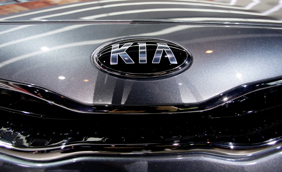 A 2014 Kia model is shown at the Chicago Auto Show in this February 2013 file photo. (AP / Nam Y. Huh)