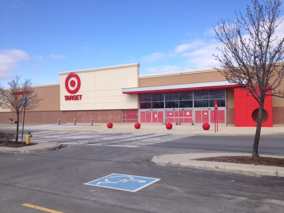 The Target Canada store in Windsor, Ont., on Tuesday, March 5, 2013. (Chris Campbell / CTV Windsor)
