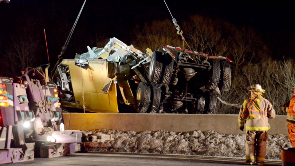 2nd body recovered from submerged tractor-trailer