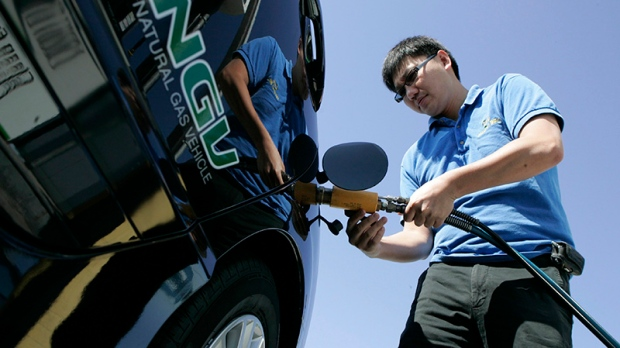 Natural gas vehicle sales rise