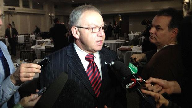 Nova Scotia Premier Darrell Dexter