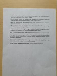 CAQ Bill 14 letter pg. 2