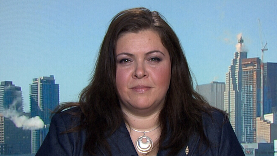 Legal director Christa Big Canoe appears on CTV's Power Play on Wednesday, March 6, 2013.