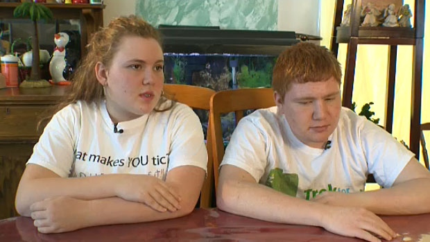 Edmonton-area siblings Amanda and Ryan Caruso both have Tourette syndrome and say living with the condition has been challenging. Amanda and Ryan say their peers don't accept them for something they can't control.