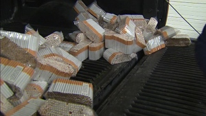 The federal and provincial governments lose $2 billion a year in tax revenue when people buy tax-free native cigarettes.