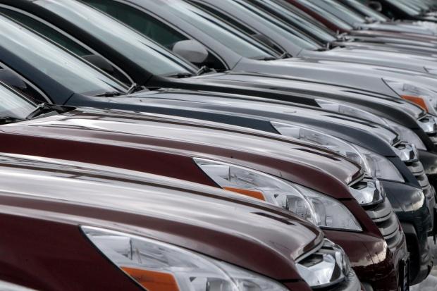 Subaru Legacys on Feb. 26, 2013