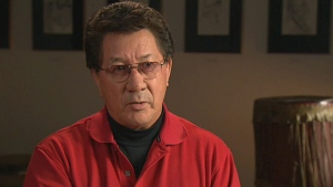 Mike Mitchell, Grand Chief of Akwesasne, Ont., speaks about international smuggling on CTV's W5.