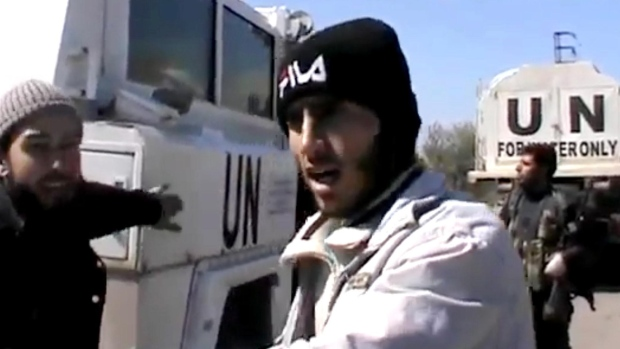 Syrian rebels kidnap UN peacekeepers