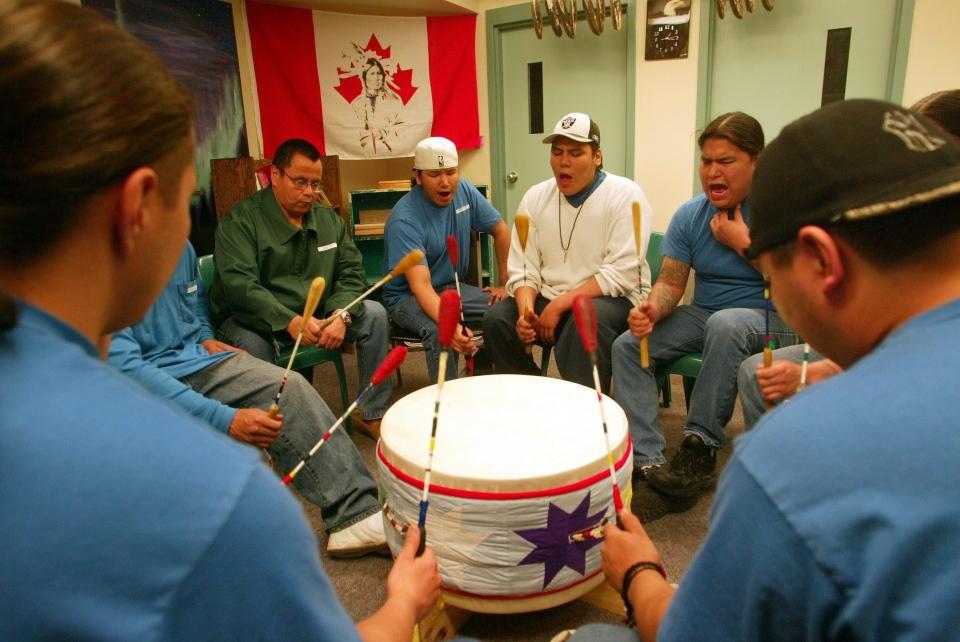 Aboriginal Drum Circle
