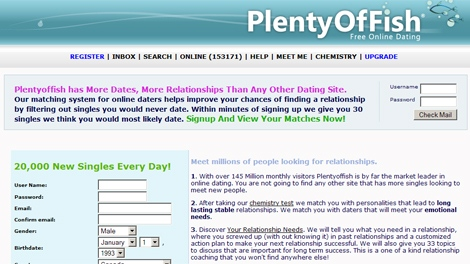 Plenty of fish dating member sign in