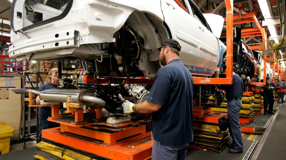 General Motors invest CAMI assembly plant