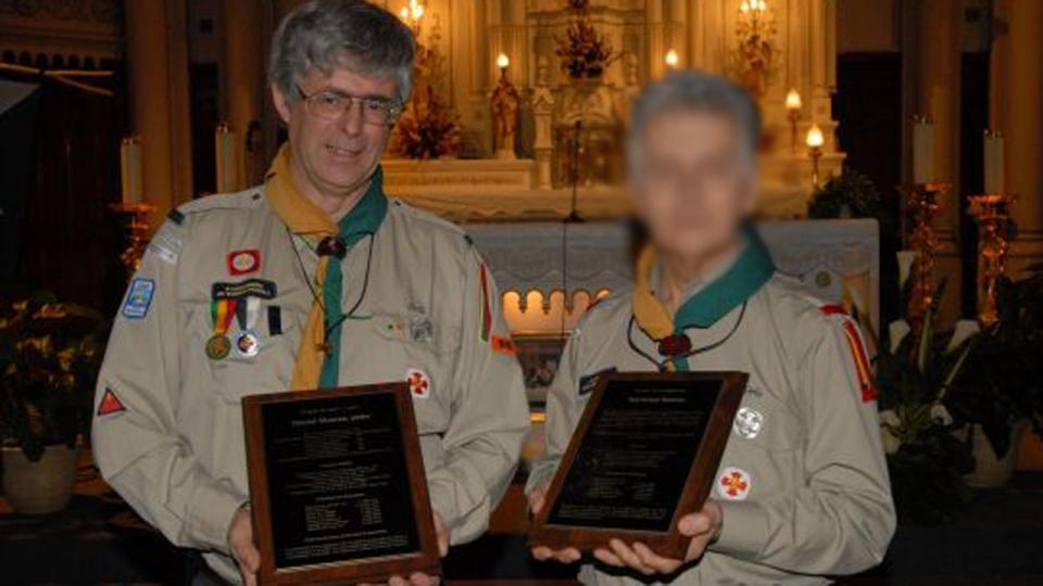 Daniel Moreau as seen in his Adventurers Association of Baden-Powell uniform, courtesy Sorel-TracyExpress.ca