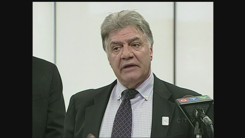 London Mayor Joe Fontana speaks in London, Ont. on Friday, March 8, 2013.