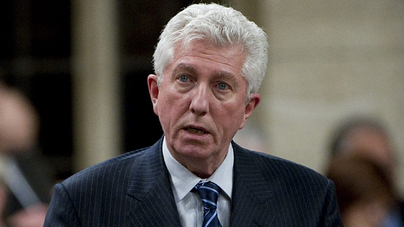 Bloc Quebecois Leader Gilles Duceppe rises during Question Period in the House of Commons on Parliament Hill in Ottawa, Monday January 31, 2011. (Adrian Wyld / THE CANADIAN PRESS)