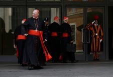 Cardinals in Vatican City to prepare for conclave