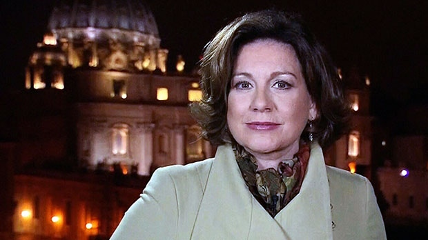 Lisa LaFlamme in Rome