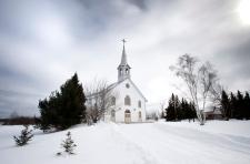 Cardinal Marc Ouellet's hometown La Motte, Quebec