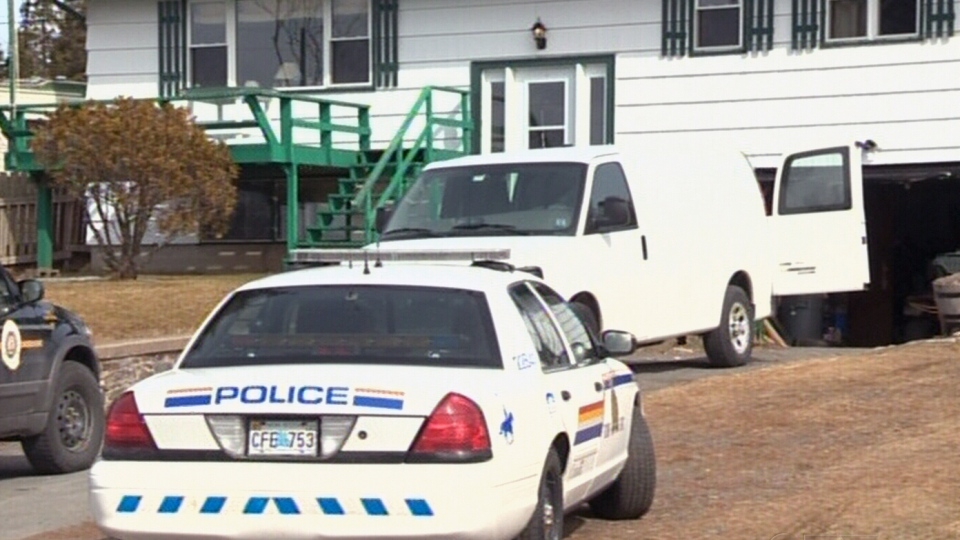 Investigators conduct search on a Halifax-area property.