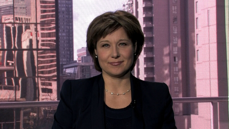 B.C. Premier Christy Clark appears on CTV's Question Period, Sunday, March 10, 2013.