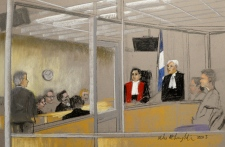 Luka Rocco Magnotta  in court