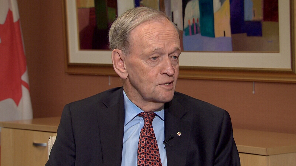 Former prime minister Jean Chretien appears on CTV's Power Play on Tuesday, March 12, 2013.