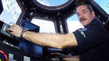 Chris Hadfield command ISS astronaut space