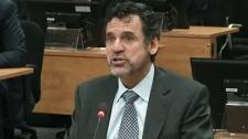 Francois Perreault, former vice-president of powerful engineering firm Genivar