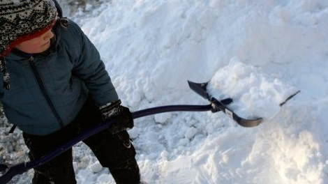 Paramedics are warning residents to be careful while shovelling.