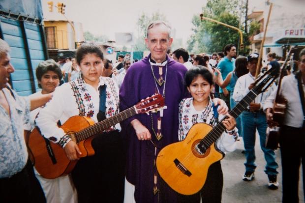 Slum pope