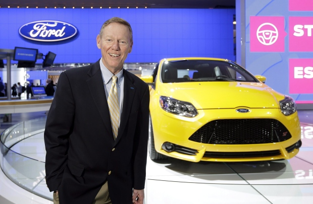 Ford CEO Alan Mulaly on Jan. 15, 2013.