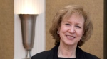 Former prime minister Kim Campbell attends a gala breakfast in Halifax on Friday, March 1, 2013. (Andrew Vaughan/THE CANADIAN PRESS)