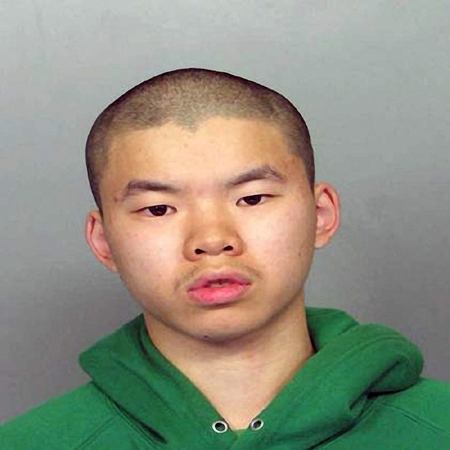 This is an undated photograph of Calin Chi Wong, a 20-year-old found with a cache of weapons, including four AK-47s. He was arrested after threatening to re-enact a Virginia-Tech style massacre over the Internet, authorities said Thursday, April 3, 2008. (AP / Homestead Police Dept.)