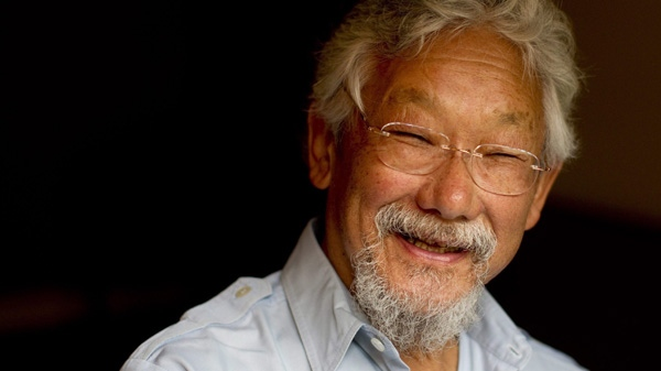 """David Suzuki poses for a photo as he promotes his film """"Force of Nature"""" at the Toronto International Film Festival, in Toronto on Thursday September 9, 2010. (THE CANADIAN PRESS/Chris Young)"""