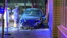 Bizarre crash in Calgary
