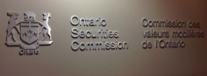 The Ontario Securities Commission's logo is pictured. (Facebook)