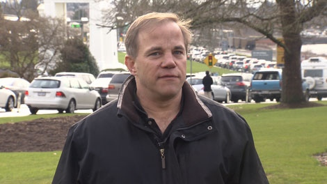 Mark Gregory Goddard has been finally approved for travel across the U.S. border after a case of mistaken identity had him confused with a criminal. Feb. 4, 2011. (CTV)