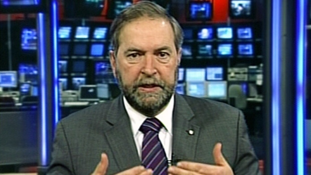 Thomas Mulcair on Keystone