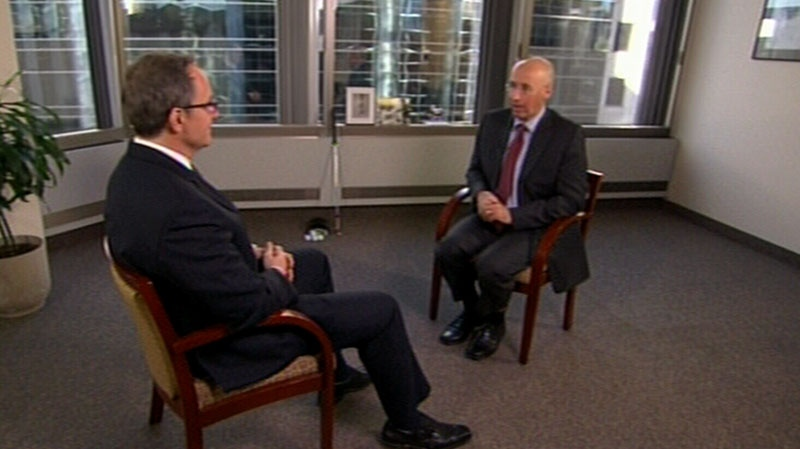 Kevin Page sits down with Kevin Newman for an interview on CTV's Question Period.