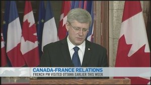 CTV News Channel: Canada's role in Mali