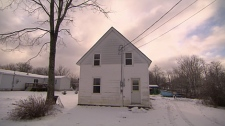 The Martinello's rental property is shown in this video image. It was damaged ion 2004 by Hurricane Igor and has since been repaired.