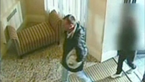 Richard Earl Rupert is shown in a surveillance image before he assaulted a senior for cash.